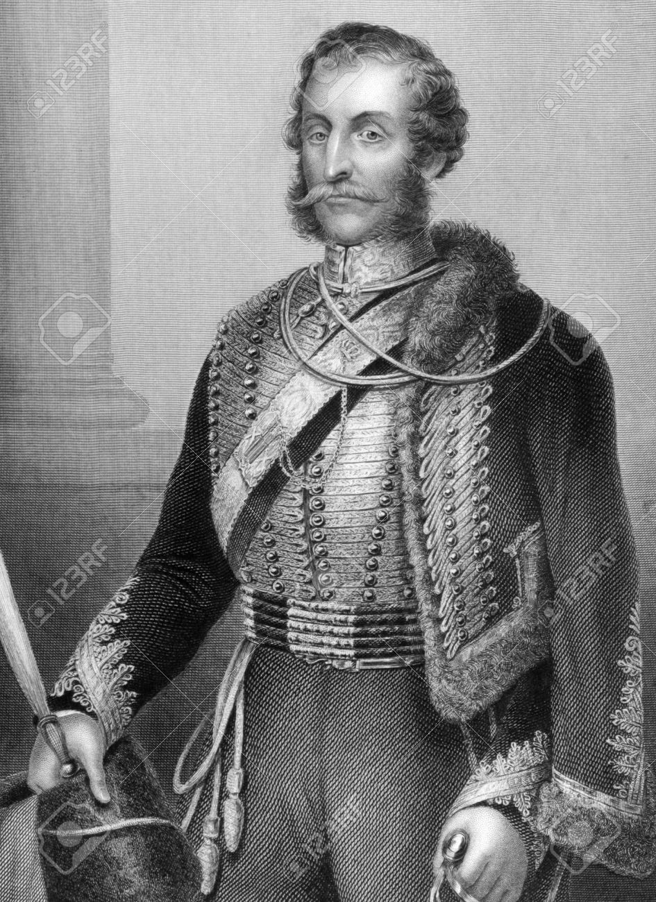 James Brudenell, the seventh Earl of Cardigan