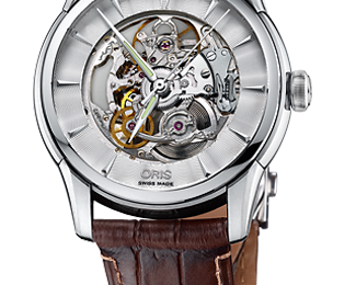 Oris goes skeleton, oris artelier collection, luxury watches by oris, oris watches