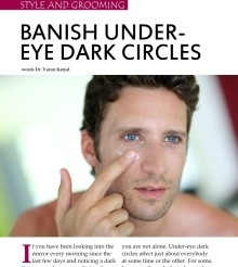 Banish Under-Eye Dark Circles!