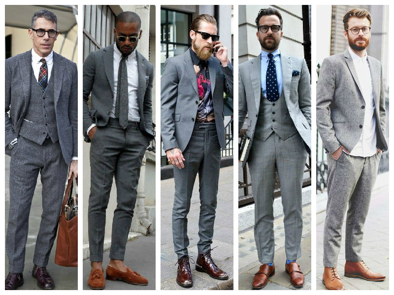 Grey Suit, Suits For Men, Styling Tips, Style Tips For Men, Grooming Tips Men, MensWear, Mens Fashion, Dapper, GQ, InstaHit, WhatMenLove, MensWardrobe, MensStyling, Fashion Stylists, Fashion Styling